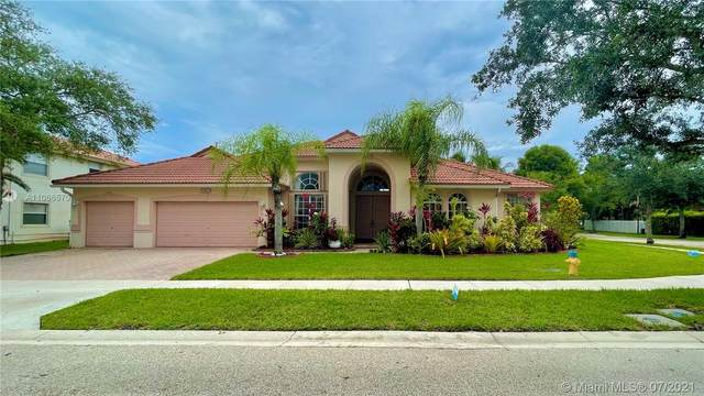 13803 NW 21st St, Pembroke Pines, FL 33028 (MLS #A11066570) :: All Florida Home Team