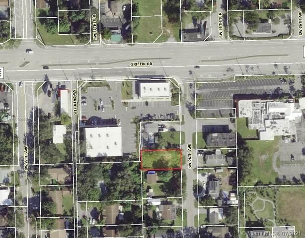 4873 SW 26th Ave, Dania Beach, FL 33312 (MLS #A11066624) :: KBiscayne Realty
