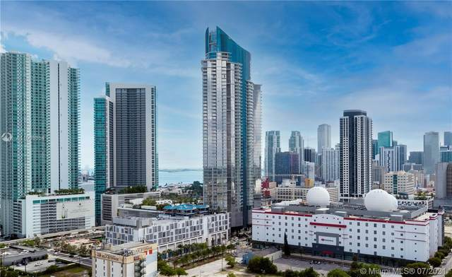 851 NE 1st Ave #1802, Miami, FL 33132 (MLS #A11066954) :: The Howland Group