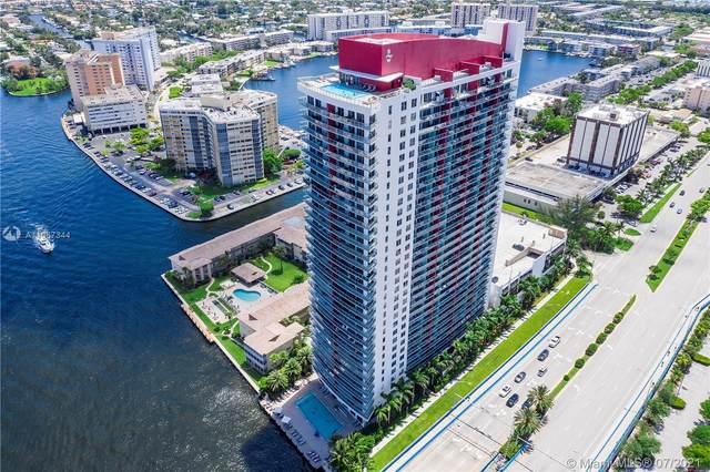 2602 E Hallandale Beach Blvd R2503 A&B, Hallandale Beach, FL 33009 (MLS #A11067344) :: Castelli Real Estate Services