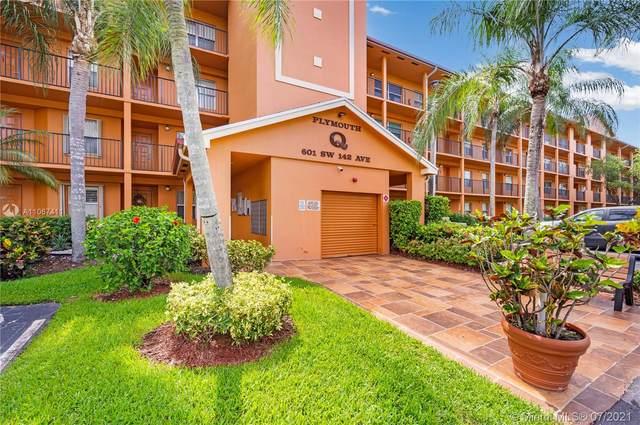 601 SW 142nd Ave 302Q, Pembroke Pines, FL 33027 (#A11067411) :: Dalton Wade