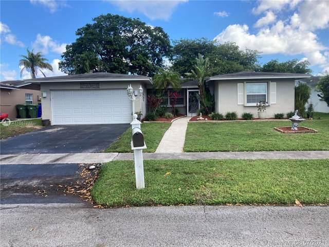 9440 NW 23rd St, Pembroke Pines, FL 33024 (MLS #A11067717) :: Prestige Realty Group