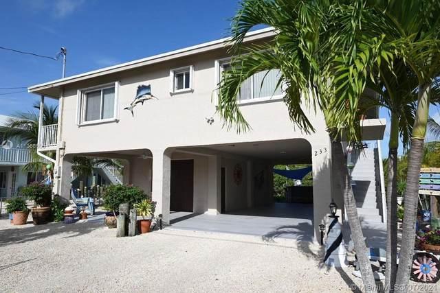 233 La Paloma Rd, Key Largo, FL 33037 (MLS #A11068600) :: The Teri Arbogast Team at Keller Williams Partners SW