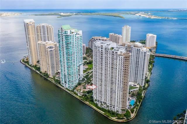 901 Brickell Key Blvd #1406, Miami, FL 33131 (MLS #A11069461) :: Castelli Real Estate Services