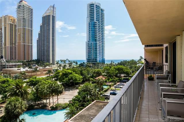 210 174th St #712, Sunny Isles Beach, FL 33160 (MLS #A11069634) :: Berkshire Hathaway HomeServices EWM Realty