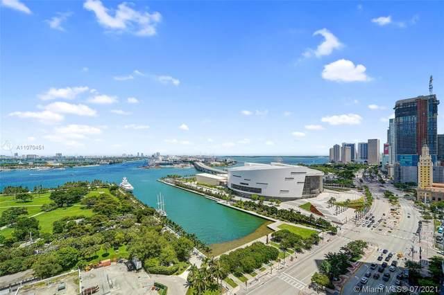900 Biscayne Blvd #2304, Miami, FL 33132 (MLS #A11070451) :: GK Realty Group LLC
