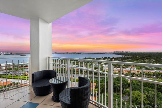 1000 Quayside Terrace #1802, Miami, FL 33138 (#A11070483) :: Dalton Wade