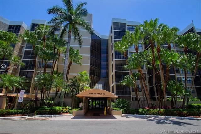 16300 Golf Club Rd #711, Weston, FL 33326 (MLS #A11070618) :: ONE | Sotheby's International Realty