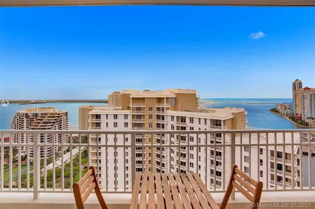 801 Brickell Key Blvd #2807, Miami, FL 33131 (MLS #A11071022) :: GK Realty Group LLC