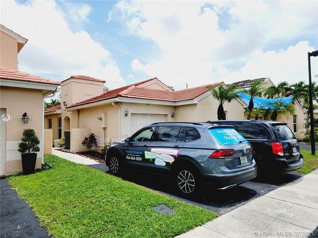2175 NW 184th Ter, Pembroke Pines, FL 33029 (MLS #A11071599) :: Prestige Realty Group