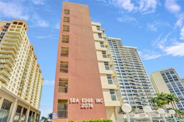 2076 S Ocean Dr #612, Hallandale Beach, FL 33009 (MLS #A11071806) :: Prestige Realty Group