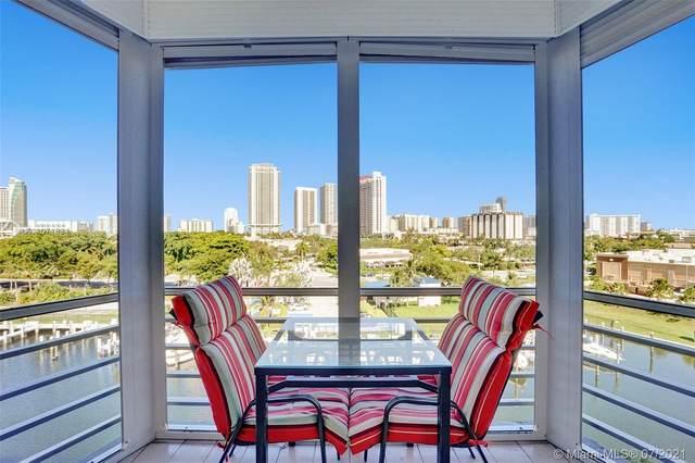 200 Diplomat Pkwy #732, Hallandale Beach, FL 33009 (MLS #A11071834) :: Castelli Real Estate Services