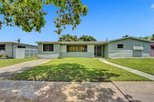 17741 NW 15th Ct, Miami Gardens, FL 33169 (MLS #A11071861) :: Berkshire Hathaway HomeServices EWM Realty