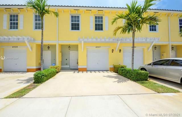 4027 NW 11th Drive #4027, Lauderhill, FL 33313 (MLS #A11072207) :: Prestige Realty Group