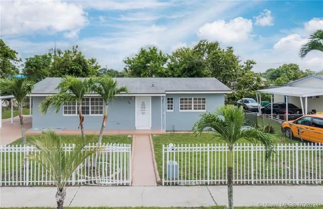 935 NW 179th St, Miami Gardens, FL 33169 (MLS #A11072576) :: Albert Garcia Team