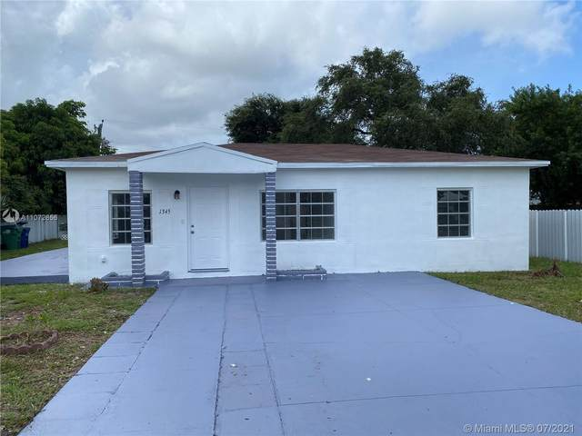 1345 NW 84th Ter, Miami, FL 33147 (MLS #A11072656) :: The Teri Arbogast Team at Keller Williams Partners SW