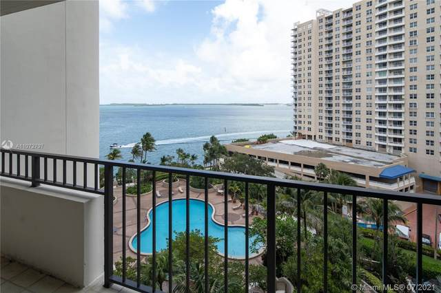 520 Brickell Key Dr A911, Miami, FL 33131 (MLS #A11072797) :: The Teri Arbogast Team at Keller Williams Partners SW