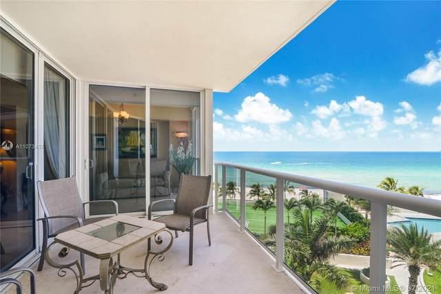 19111 Collins Ave #502, Sunny Isles Beach, FL 33160 (#A11073407) :: Dalton Wade
