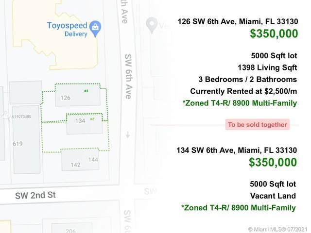 134 SW 6th Ave, Miami, FL 33130 (MLS #A11073480) :: Prestige Realty Group