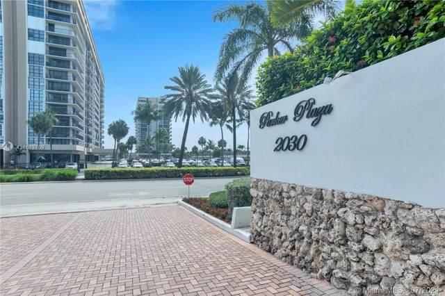 2030 S Ocean Dr #408, Hallandale Beach, FL 33009 (#A11073709) :: Dalton Wade