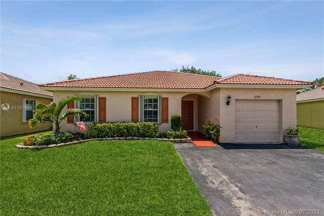 1770 SW 120th Ter, Miramar, FL 33025 (MLS #A11073804) :: Berkshire Hathaway HomeServices EWM Realty
