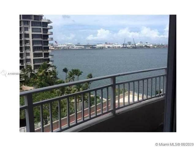 770 Claughton Island Dr #907, Miami, FL 33131 (MLS #A11073831) :: Search Broward Real Estate Team