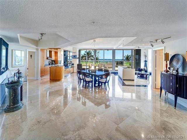6051 N Ocean Dr #307, Hollywood, FL 33019 (#A11073998) :: Dalton Wade