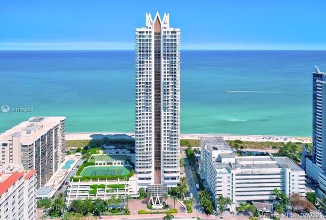 6365 Collins Ave #1706, Miami Beach, FL 33141 (MLS #A11074824) :: Berkshire Hathaway HomeServices EWM Realty