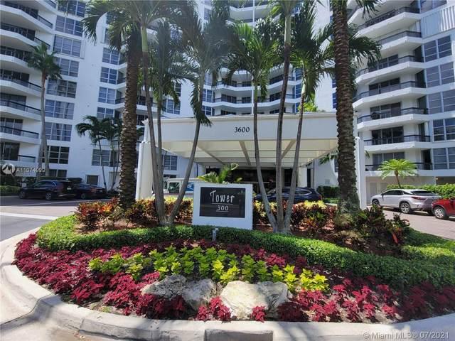 3600 Mystic Pointe Dr #606, Aventura, FL 33180 (MLS #A11074999) :: The Teri Arbogast Team at Keller Williams Partners SW