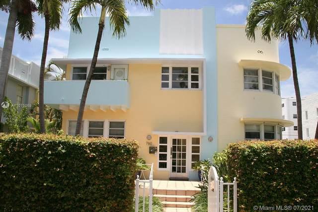 760 Euclid Ave #103, Miami Beach, FL 33139 (MLS #A11075068) :: The Paiz Group