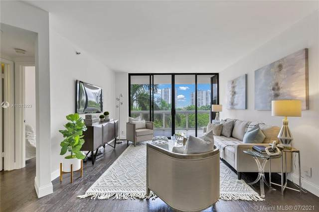20185 E Country Club Dr #409, Aventura, FL 33180 (MLS #A11075223) :: Equity Realty