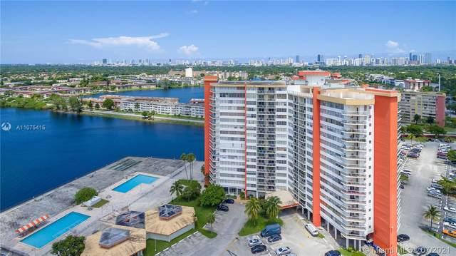 1351 NE Miami Gardens Dr 1215E, North Miami Beach, FL 33179 (MLS #A11075415) :: The Teri Arbogast Team at Keller Williams Partners SW