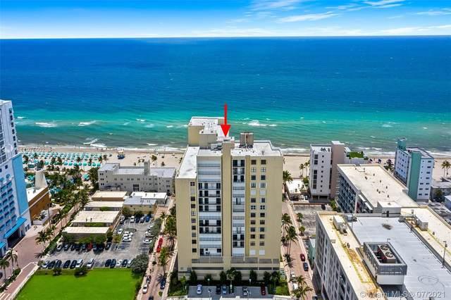 322 Buchanan St #1104, Hollywood, FL 33019 (MLS #A11075502) :: Carole Smith Real Estate Team