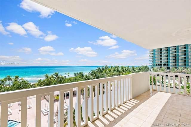 9801 Collins Ave 8Z, Bal Harbour, FL 33154 (MLS #A11075776) :: Castelli Real Estate Services