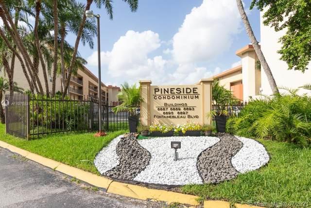 8889 Fontainebleau Blvd #201, Miami, FL 33172 (MLS #A11075831) :: Douglas Elliman