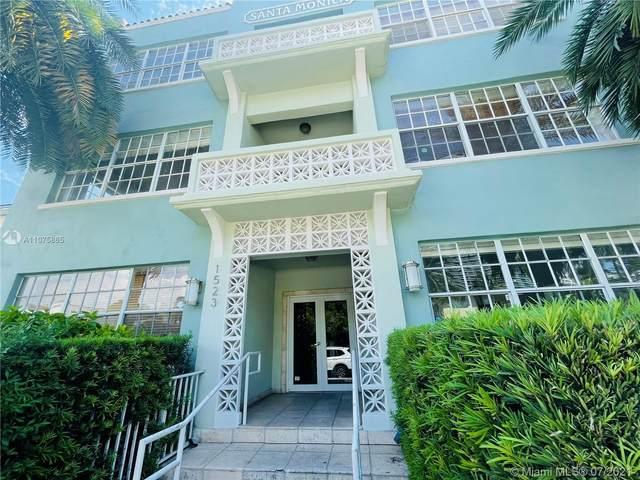 1523 West Ave #204, Miami Beach, FL 33139 (MLS #A11075865) :: Prestige Realty Group