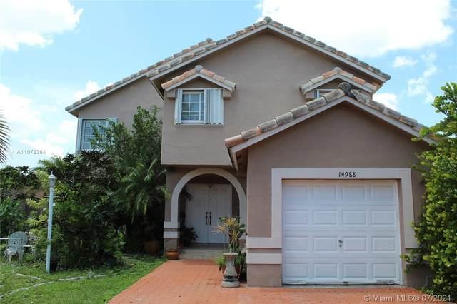 14988 SW 59th St, Miami, FL 33193 (MLS #A11076364) :: Equity Advisor Team