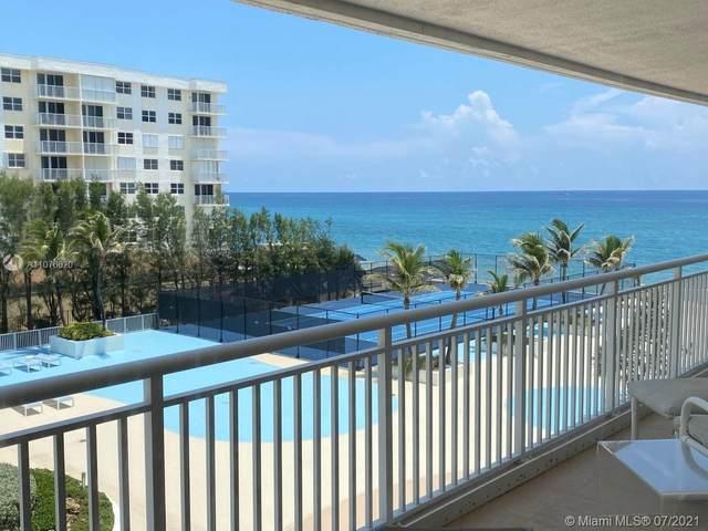 3546 S Ocean Blvd #525, South Palm Beach, FL 33480 (MLS #A11076620) :: Patty Accorto Team