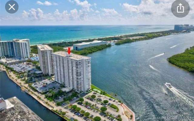 500 Bayview Dr #721, Sunny Isles Beach, FL 33160 (MLS #A11076902) :: Equity Realty