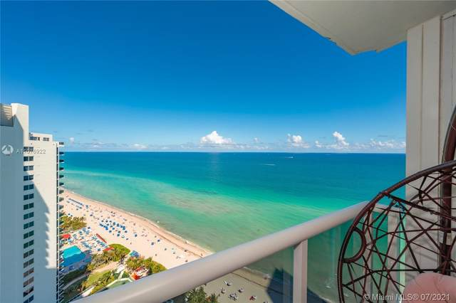 19111 Collins Ave #2607, Sunny Isles Beach, FL 33160 (MLS #A11076922) :: Equity Realty
