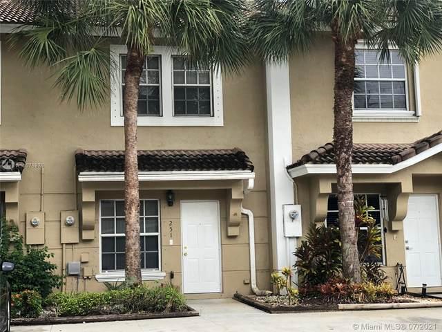 251 SW 122nd Ter #0, Pembroke Pines, FL 33025 (MLS #A11076976) :: Equity Realty