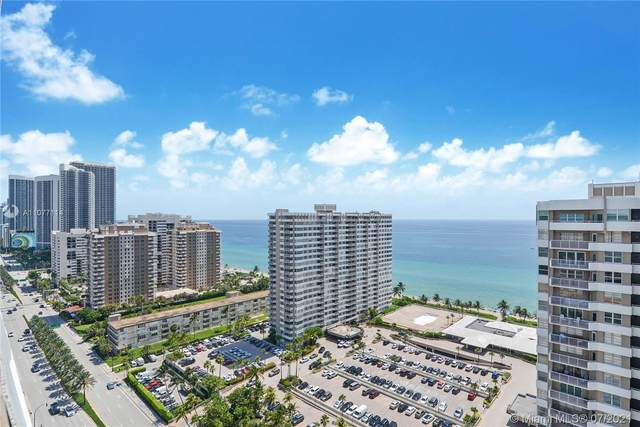 1985 S Ocean Dr Php, Hallandale Beach, FL 33009 (MLS #A11077114) :: ONE Sotheby's International Realty