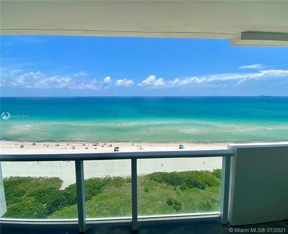 5601 Collins Ave #1609, Miami Beach, FL 33140 (MLS #A11077374) :: The Howland Group