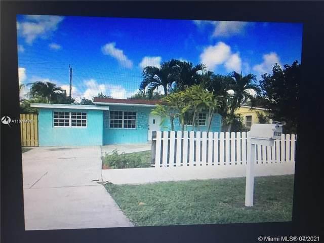 6125 Dawson St, Hollywood, FL 33023 (MLS #A11077433) :: Castelli Real Estate Services