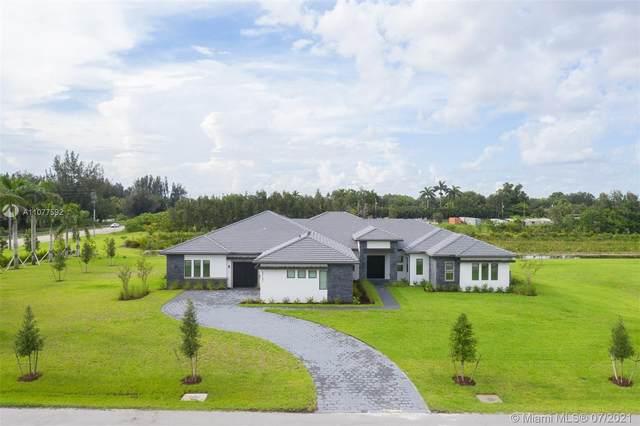 17151 Magnolia Estates Dr, Southwest Ranches, FL 33331 (MLS #A11077592) :: Green Realty Properties
