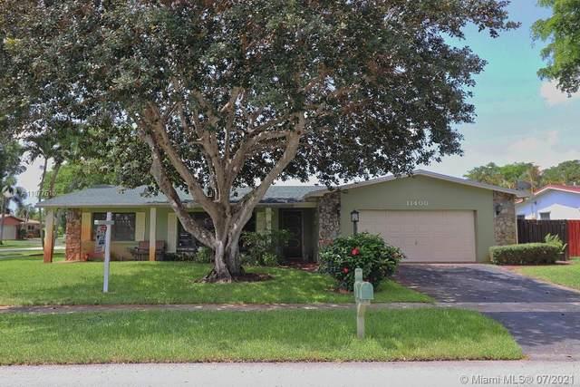 11400 NW 18th St, Pembroke Pines, FL 33026 (MLS #A11077610) :: Dalton Wade Real Estate Group
