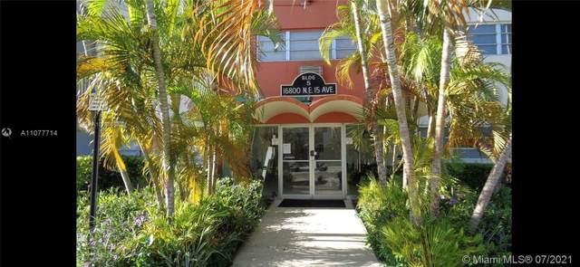 16800 NE 15th Ave #102, North Miami Beach, FL 33162 (#A11077714) :: Dalton Wade
