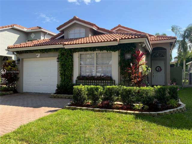 372 NW 107th Ave, Pembroke Pines, FL 33026 (MLS #A11078300) :: All Florida Home Team