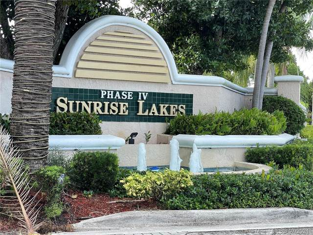 10155 NW 24th Pl #405, Sunrise, FL 33322 (MLS #A11078326) :: Green Realty Properties