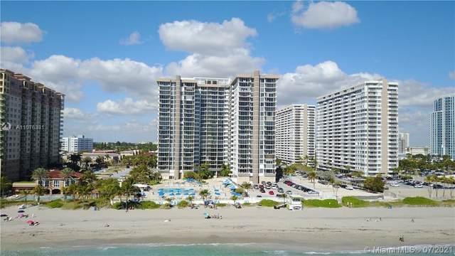 2030 S Ocean Dr #2201, Hallandale Beach, FL 33009 (MLS #A11078331) :: Green Realty Properties